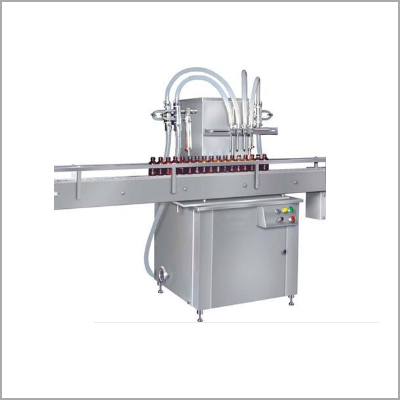 PP Syrup Bottle Filling Machine