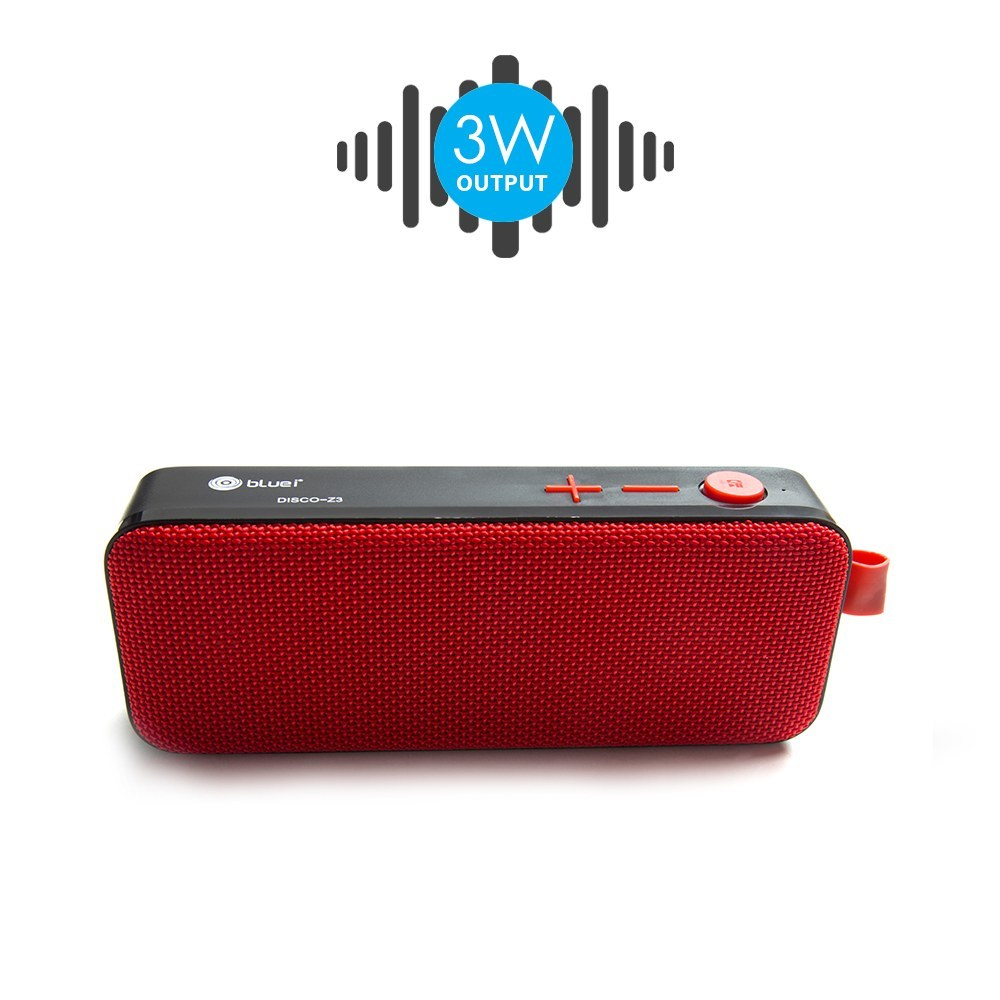 Bluei Zoom Z3 High Bass, 5.0 Bluetooth Version with Built - in FM Radio, Aux input, Call Function & SD Card Support Portable Bluetooth Speaker