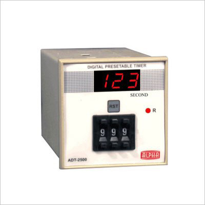 Digital Presettable Timer