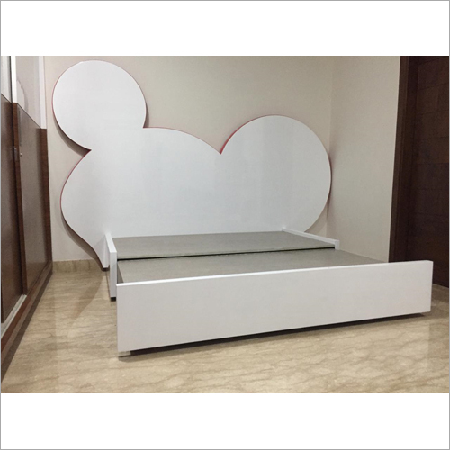 Kids Wooden Sofa Cum Bed