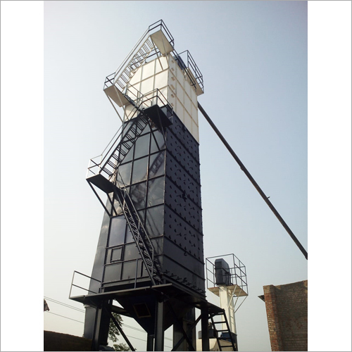 Raw Paddy Dryer Plant