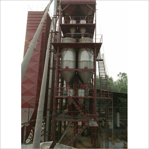 Three Stage Paddy Parboiling Plant