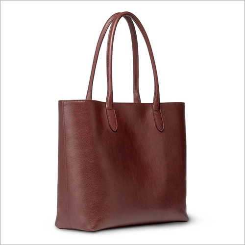 Ziptop Tote - Brown