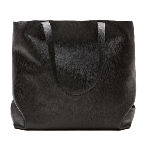 Wide Tote - Black