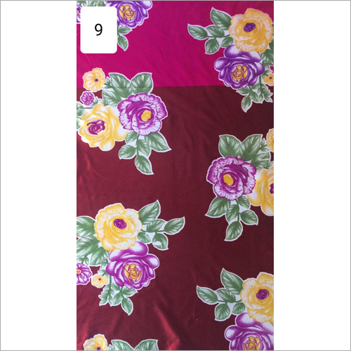 Flower Printed  Curtain Fabric