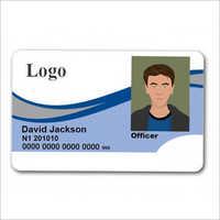 White PVC ID Card