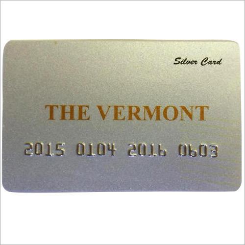 Membership Silver Card