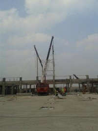 Structural Crane Hire Services