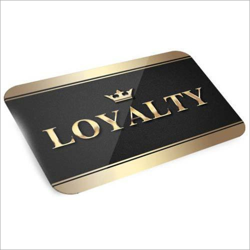 PVC Loyalty Card