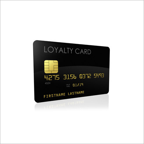 Plastic Loyalty Card