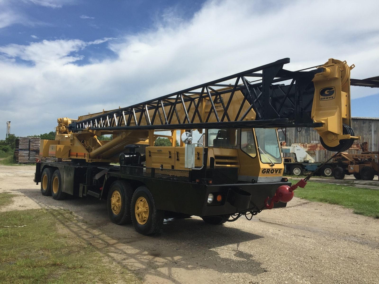 Used Truck Crane Rental Services