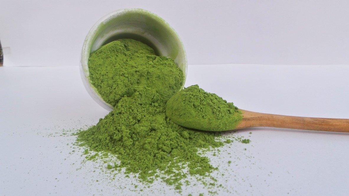 wheatgrass powder (OPEN LAND CULTIVATION)