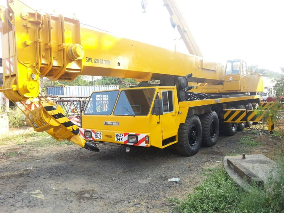 Heavy Duty Cranes Rental Service