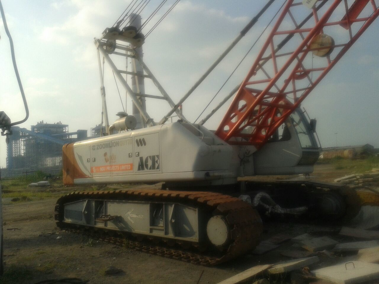 Crawler Cranes Rental Services