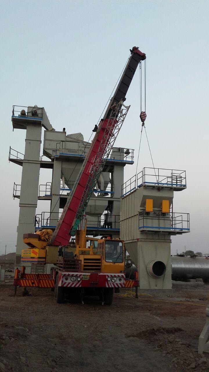 Telescopic Crane Rental Services