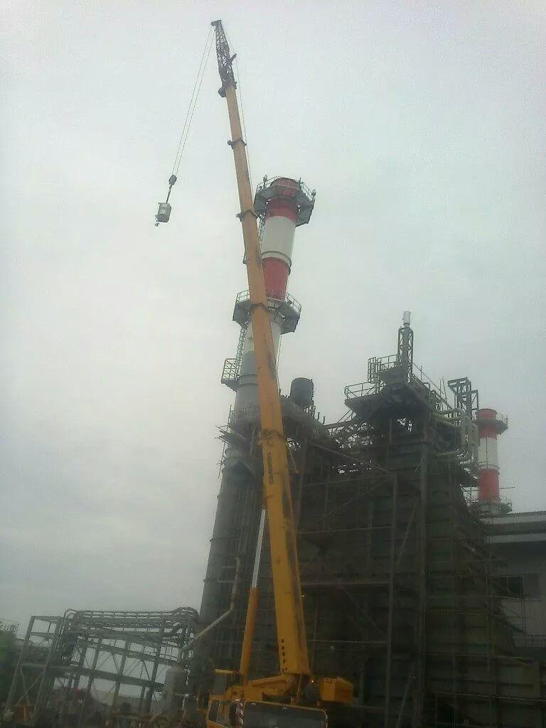 Industrial Crane Rental Services
