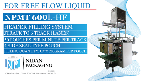 NPMT 600L-HF  Multi Track Liquid Packaging Machine