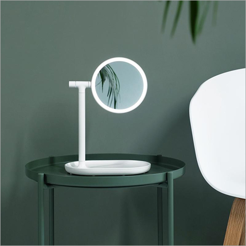 Double Sided Triple Magnification LED Vanity Mirror