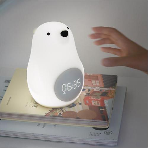 Polar Bear LED Lamp Sunrise Digital Alarm Clock