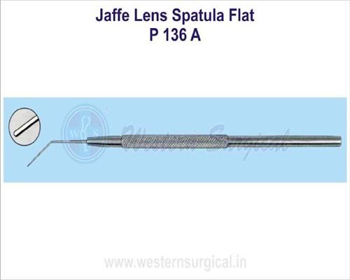 Jaffe lens spatula flat