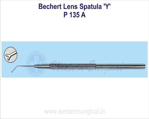 Bechert lens spatula 'Y'