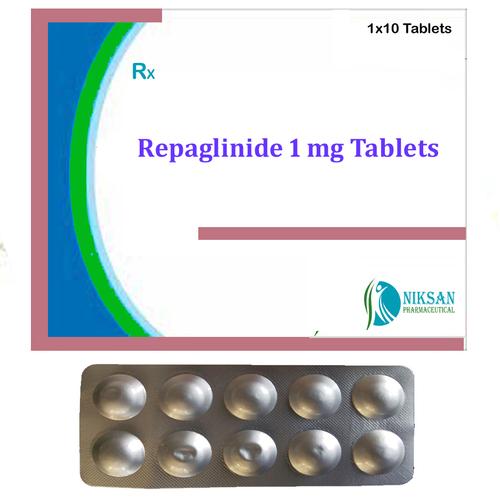 Repaglinide 1 Mg Tablets