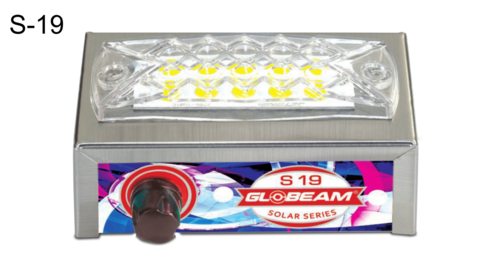 S19 Solar + Rechargeable Emergency Light