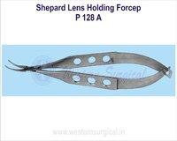 Shepard lens holding forcep