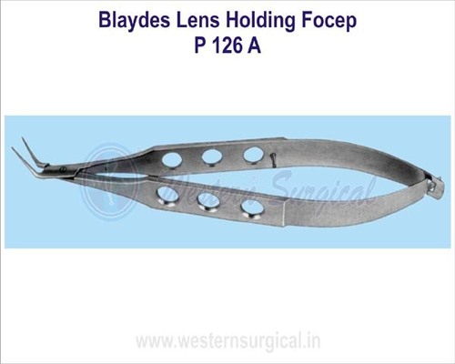Blaydes lens holding forcep