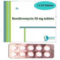 Roxithromycin 50 Mg Tablets