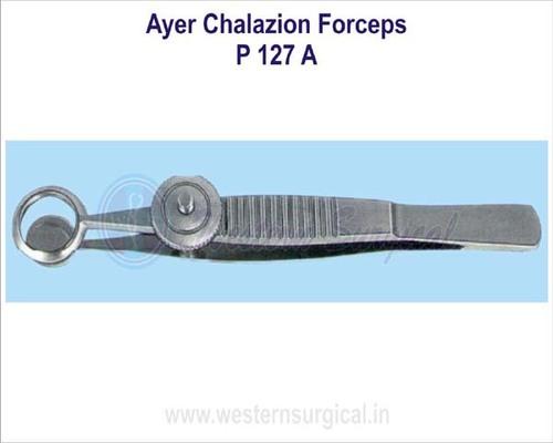 Ayer chalazion forceps