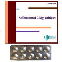 Salbutamol 2 Mg Tablets