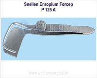 Snellen enropium forcep