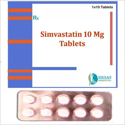 SIMVASTATIN 10 MG TABLETS
