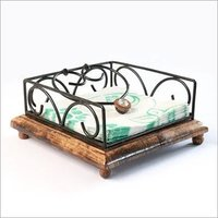 Wrought Iron Flat Napkin Holder
