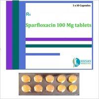 Sparfloxacin 100 Mg Tablets