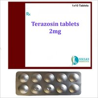 TERAZOSIN 2 MG TABLETS