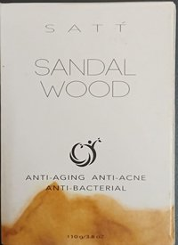 Sandal wood soap