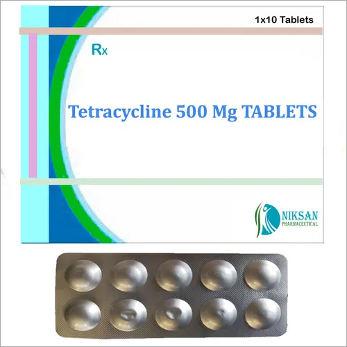 Tetracycline 500 Mg Tablets