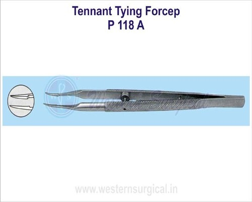 Tennant tying forcep