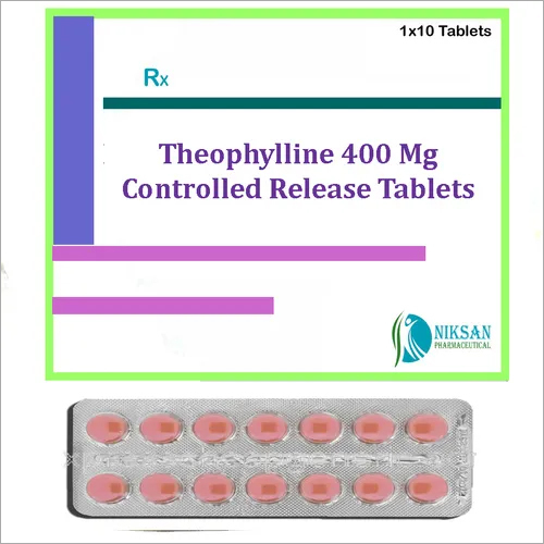 THEOPHYLLINE 400 MG CONTROLLED RELEASE TABLETS