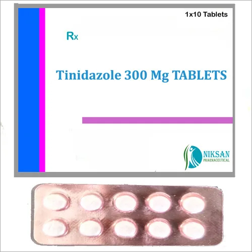 TINIDAZOLE 300 MG TABLETS