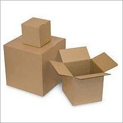 Plain Square Corrugated Box