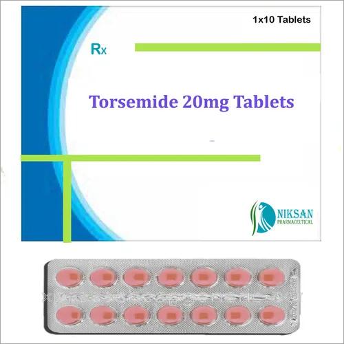 Torsemide 20 Mg Tablets