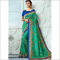 Digital Print Cotton Saree