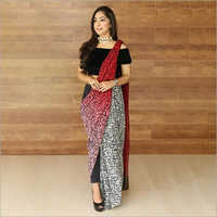 Digital Printed Fancy Saree
