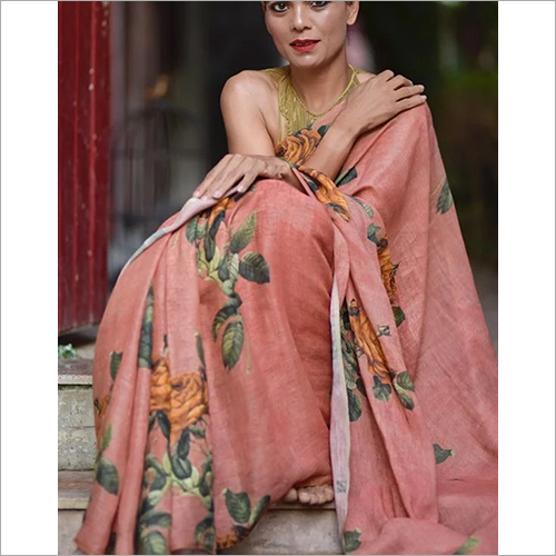 Casual Digital Printed Saree