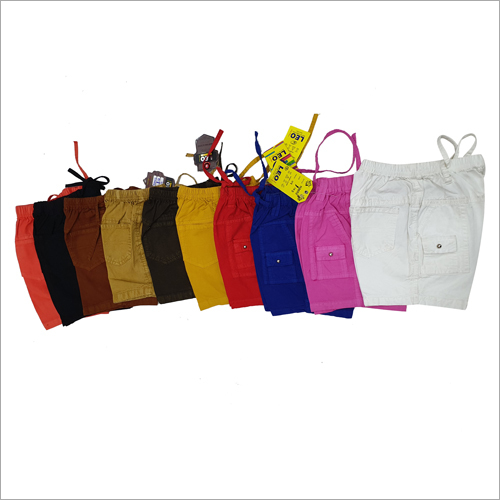 Kids Plain Hot Pant