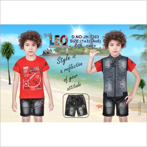 Kids Hosiery Half Designer Jacket