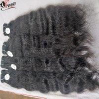 Virgin Hair Raw Indian Temple Hair